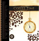 Time to coffee break — Stock Vector
