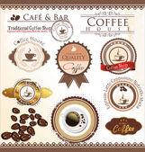 Coffee and tea design — Stock Vector