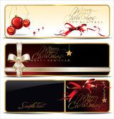 χριστούγεννα πανό που — Διανυσματικό Αρχείο