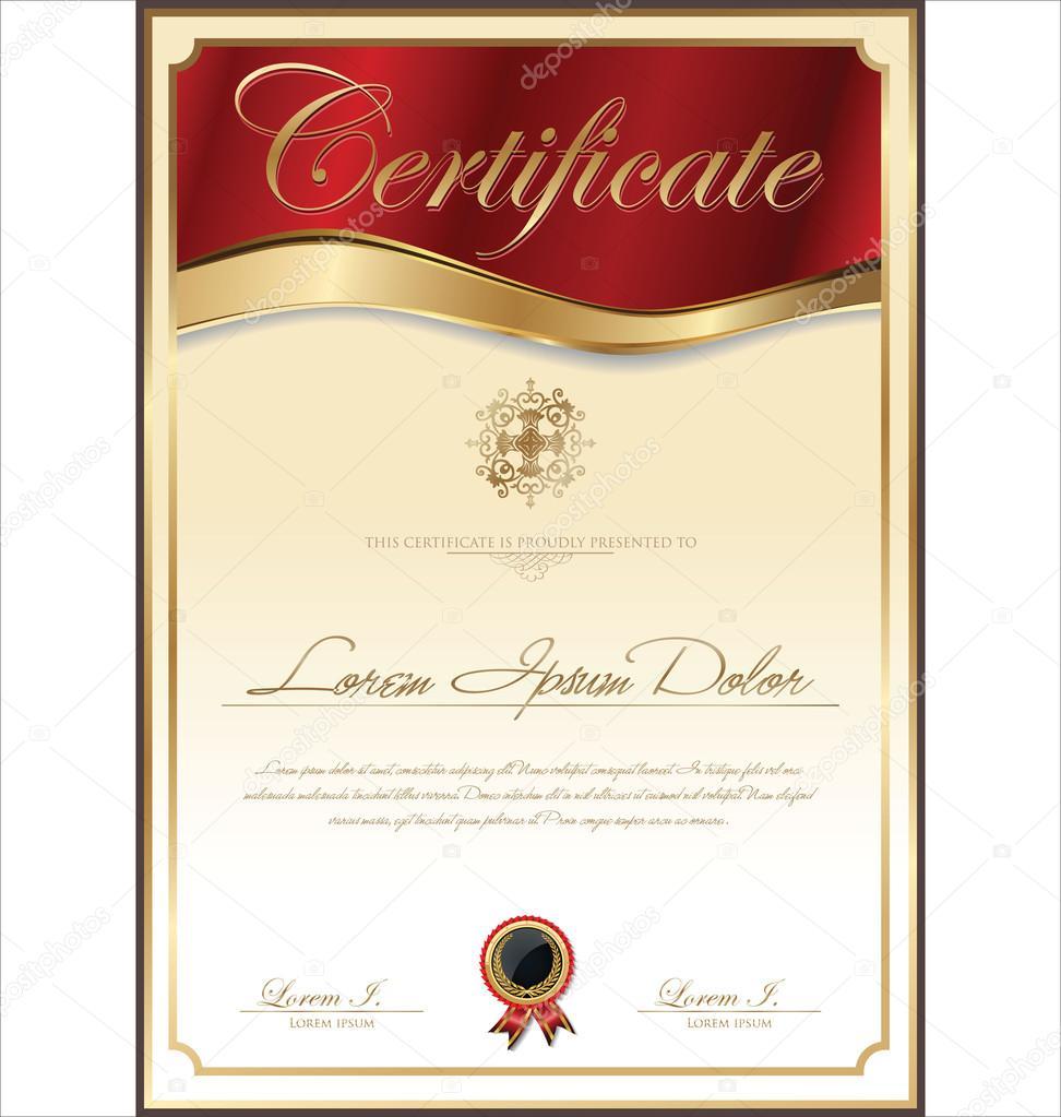Anniversary Gift Certificate Template Mandegarfo