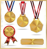 Medals set — Stock Vector
