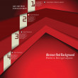 Modern red Design Layout  — Stock Vector #33066811