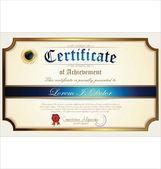 Certificate template — Stockvector