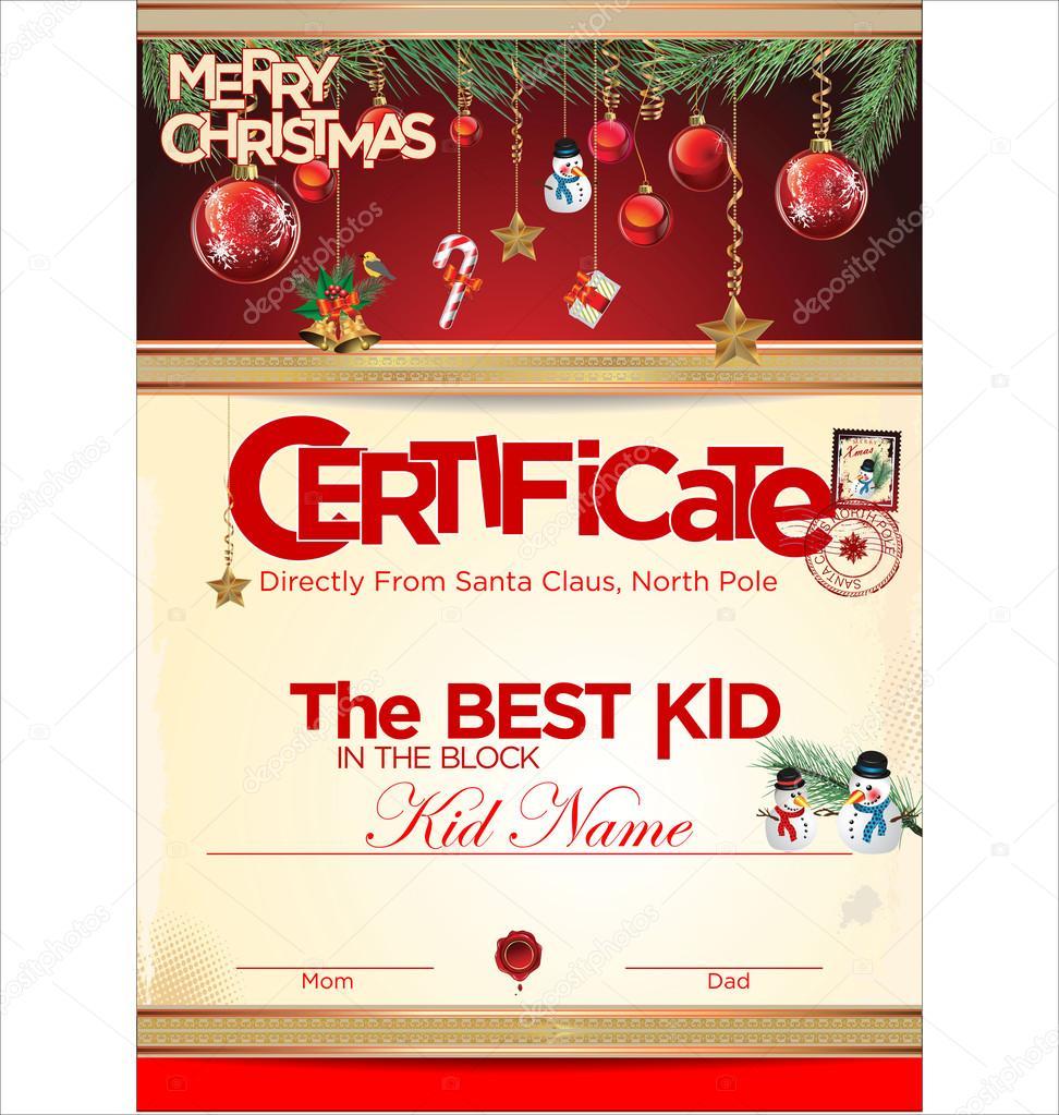 certificate template the best kid stock vector copy totallyout certificate template the best kid stock illustration