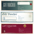 Stock Vector: Voucher template