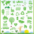 Ecology icons — Vector de stock #37794641