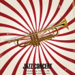 Jazz background — Vector de stock #38879565