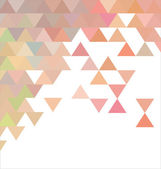 Abstract template background with triangle — Stock Vector