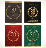 周年纪念标签 — 图库矢量图片