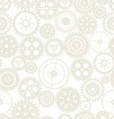 Nahtlose textur oder verschiedene zahnräder — Stockvektor