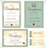 Certificate template — Stock Vector
