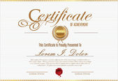 шаблон сертификата — Cтоковый вектор
