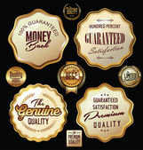 Set di etichette di qualità premium, insieme — Vettoriale Stock