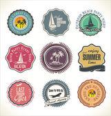 Travel design collection — Vetor de Stock