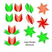 Elementos de diseño de logotipo — Foto de Stock