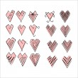 Hearts set — Stock Photo #28121729