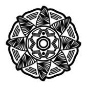 Design décoratif fleur ver6 — Photo