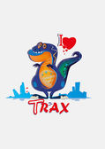 Dinosaurus — Stock vektor