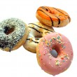 Colored donuts — Stock Photo