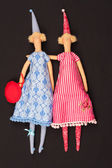 Two dolls — Foto de Stock