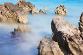 Rocks on the water — Stock Photo