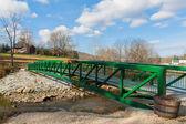 Zielony most — Zdjęcie stockowe