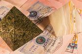 Visas to Egypt — Stock Photo