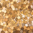 Coins background two — Stock Photo