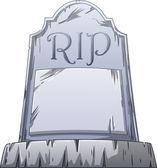 RIP Grave — Stock Vector