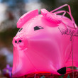Royalty-Free Stock Photo: Pink pig