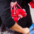 Flower basket - Stockfoto