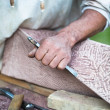 Stonemasonry - Stock Photo