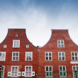Dutch houses - Stock Photo