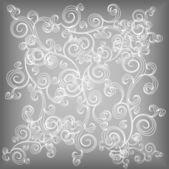 Frosty pattern — Stock Vector
