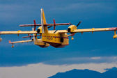 FIRE EXTINGUISHING CANADAIR AIRPLANE CL215 — Stock Photo