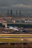 起飞巴拉哈斯机场 — 图库照片