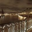 River Seine in winter — Stock Photo