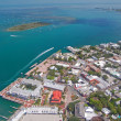 Aerial view of key west — Stock Photo