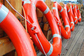 Life buoys — Stock Photo
