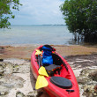 Foto de Stock  : Kayak expedition