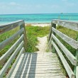 Walkway to beach — Stock Photo #18112923