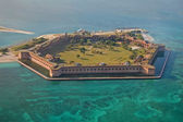 Fort jefferson, dry tortugas nationaal park — Stockfoto