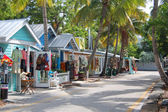 Key west street — Stock fotografie