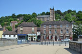 Ironbridge town — Stock Photo