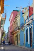 Old street havana — Stock Photo