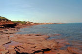 Cavendish beach — Stock Photo