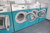 Laundrette Machines — Stock Photo