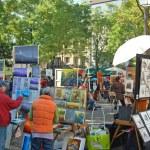 Постер, плакат: Place du Tertre Artists