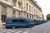 Paris Gendarmerie Vehicles — Stock Photo