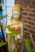 The molded figure — Stock Photo